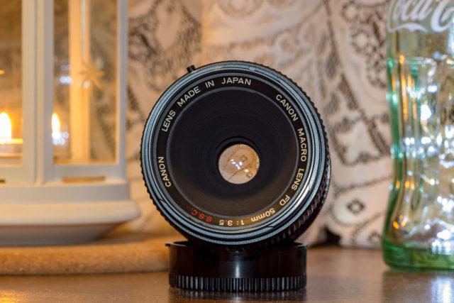 Canon FDM50mm F3.5 S.S.C.